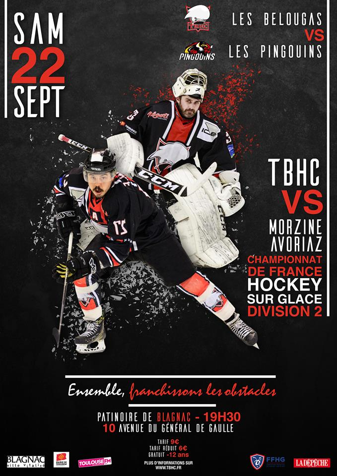 hockey belougas-vs-pingouins septembre 2018