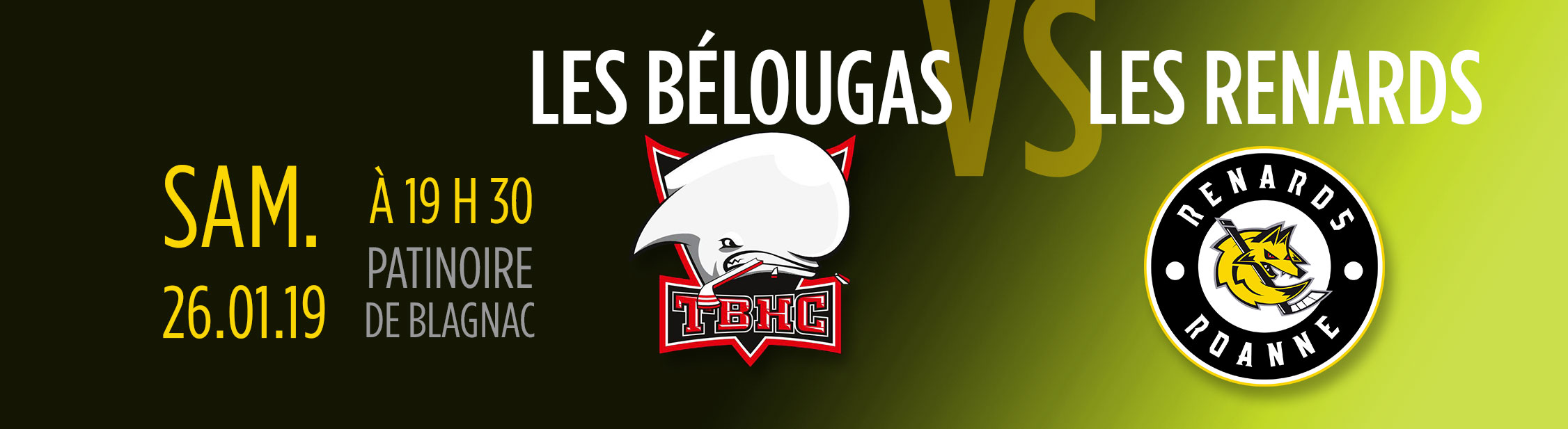 visuel hockey belougas renards